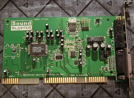 Creative SB AudioPCI (WDM) - Free download and software